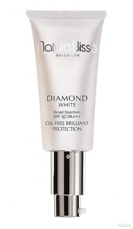 Легкий крем-флюид, не содержащий масел, Diamond White SPF 50+ / РА+++, Natura Biss? (эксклюзивно в Sanahunt)