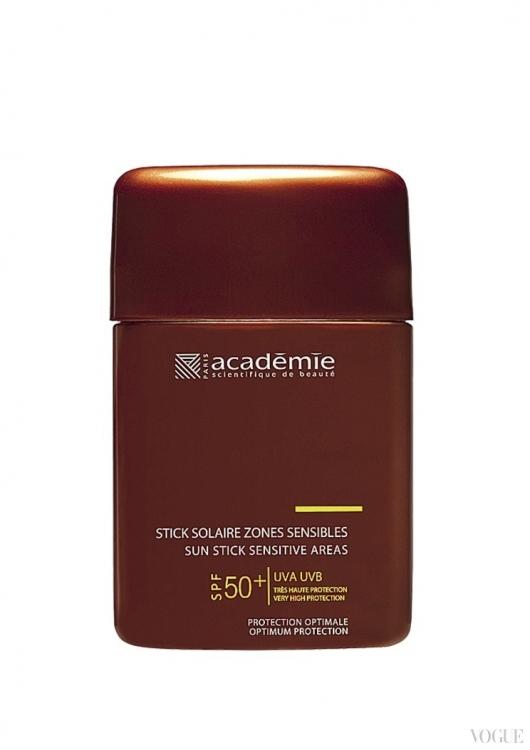 Солнцезащитный карандаш для чувствительных участков кожи SPF 50+, PA, Acad?mie