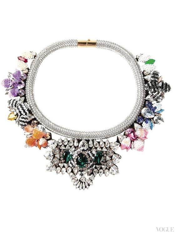 Ожерелье Avalon, кристаллы Swarovski, Shourouk