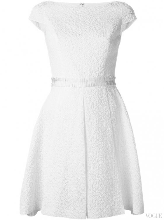 Платье из жаккарда, Blumarine