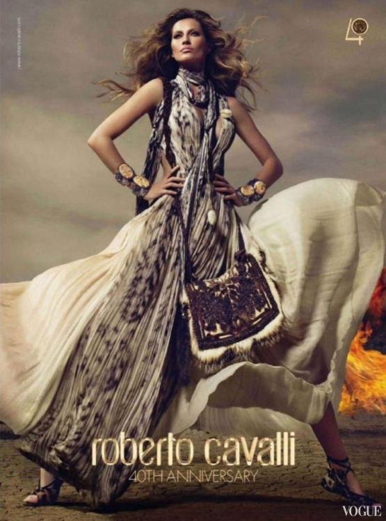 Roberto Cavalli осень-зима 2010/2011