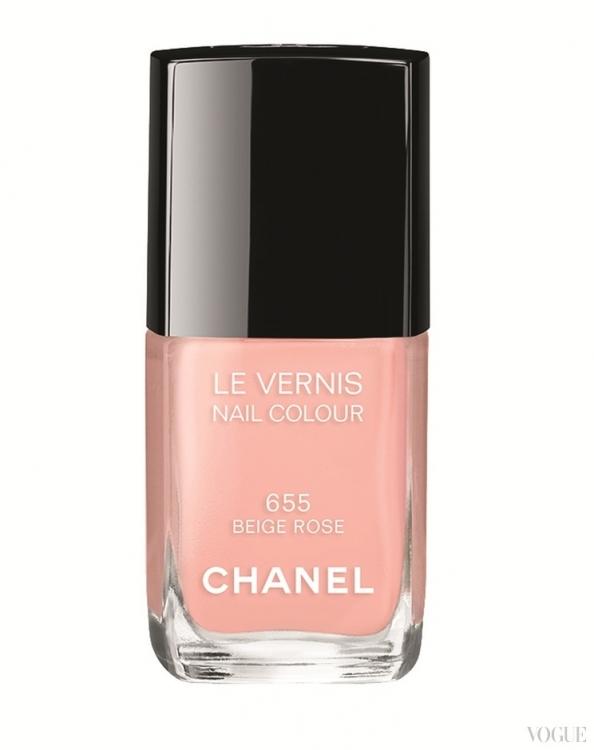 Лак для ногтей Le Vernis, № 655 Beige Rose, Chanel