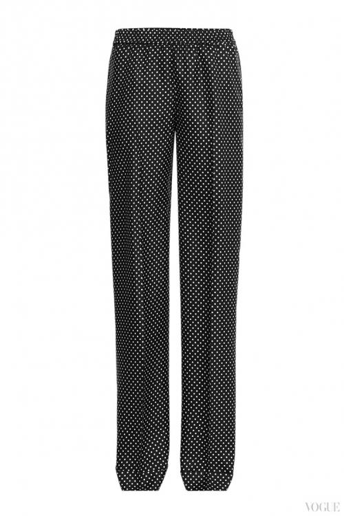 Шелковые брюки, Michael Kors