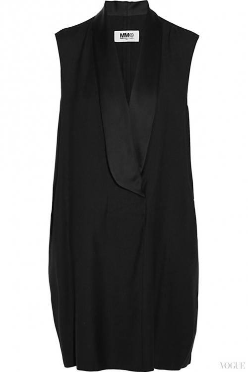 Шерстяное платье, MM6 by Maison Margiela