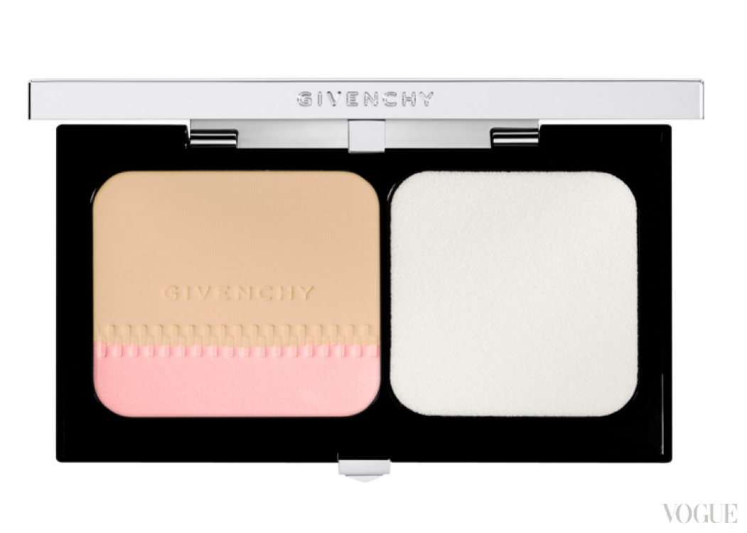 Компактная двухцветная пудра Givenchy GIVENCHY Teint Couture Long-Wearing Compact Foundation SPF10