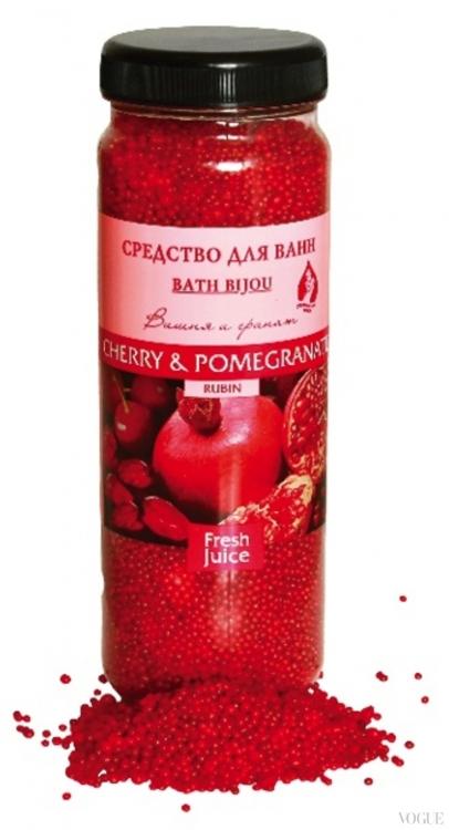Бусинки для ванной Cherry Pomegranate Fresh Juice, «Эльфа»