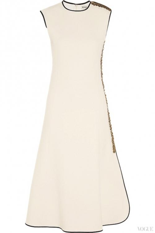 Платье из крепа, Balenciaga