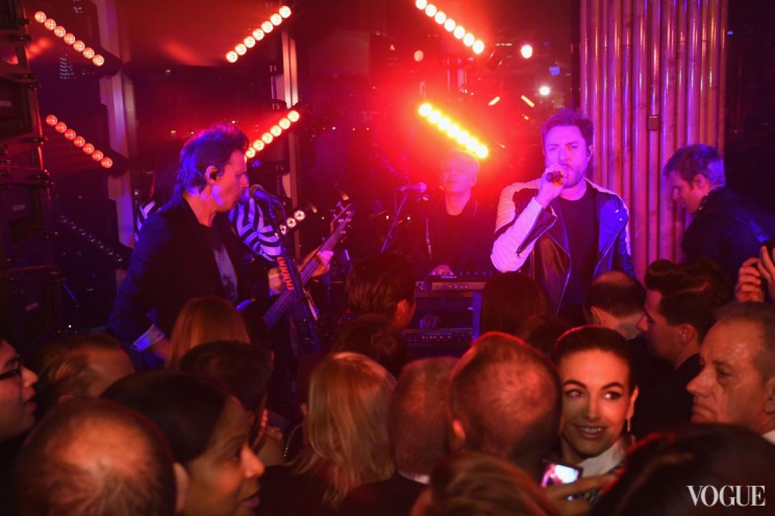 Duran Duran на вечеринке Майкла Корса