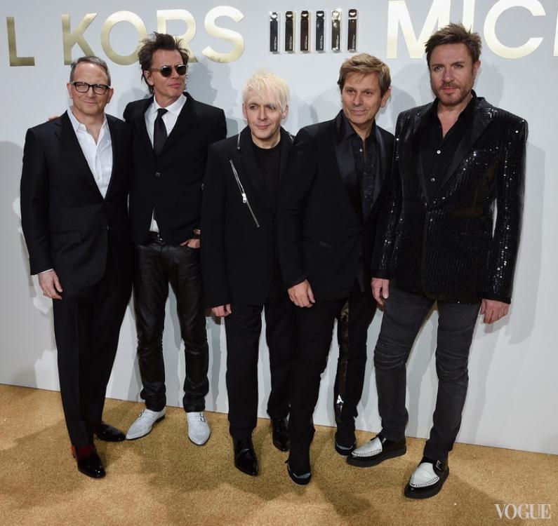 Даниэль Эннс и состав группы Duran Duran