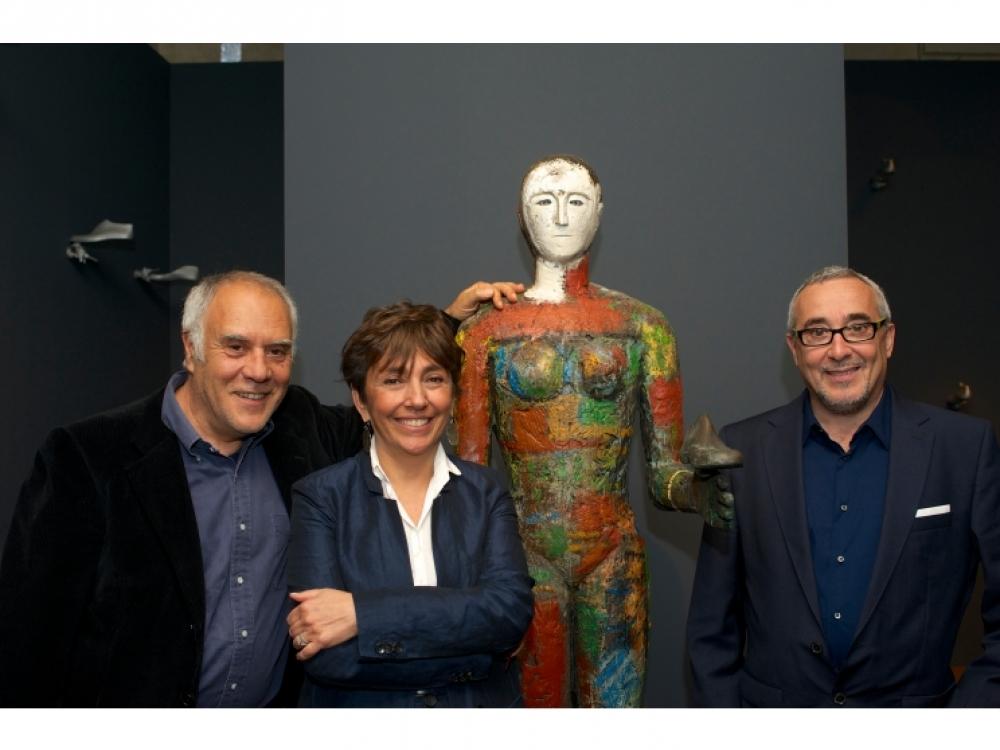 Миммо Паладино, Стефания Риччи и Мауро Боррелли