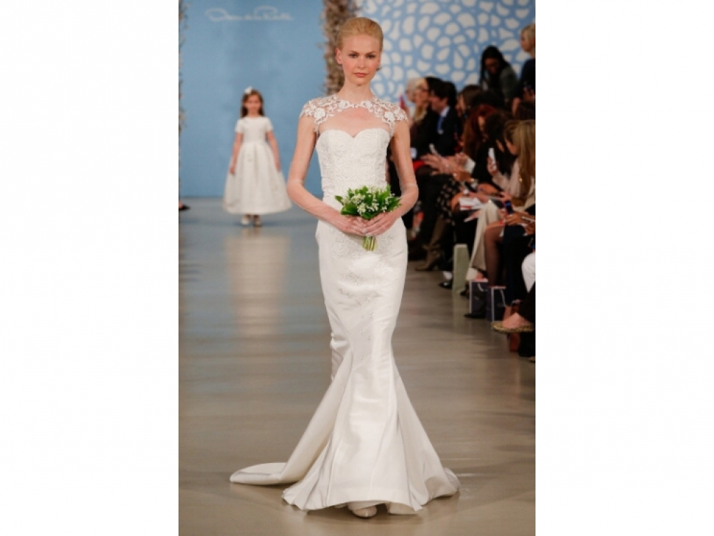 Oscar de la Renta Bridal весна-лето 2014