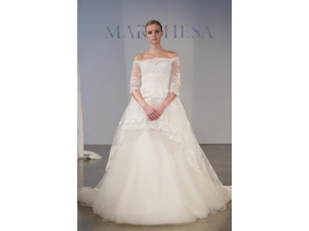 Marchesa Bridal весна-лето 2014