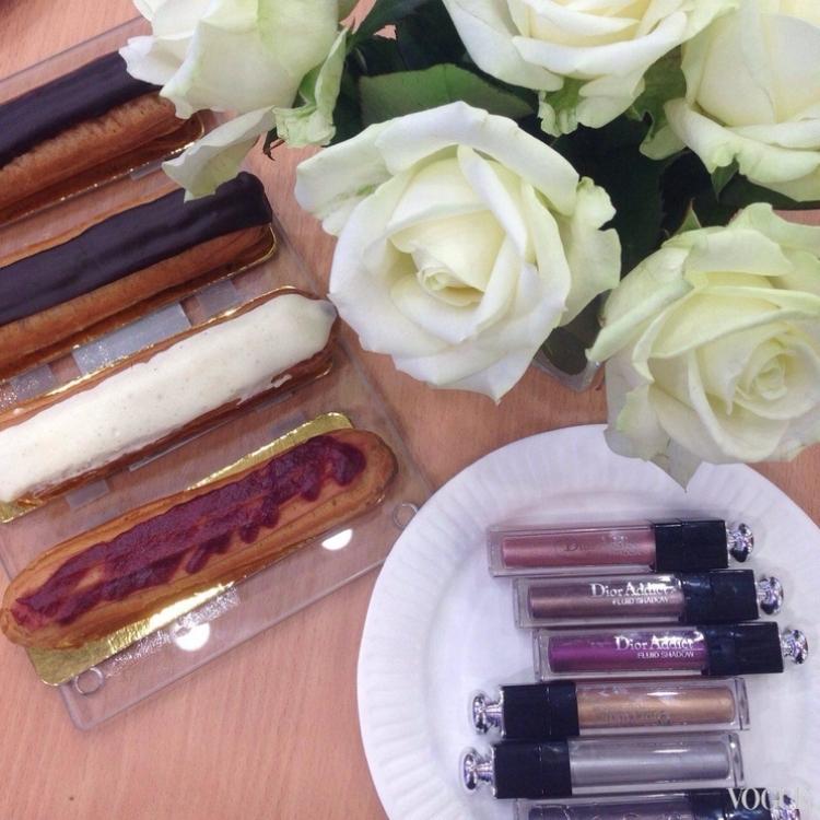 Новые тени Dior Addict Fluid Show