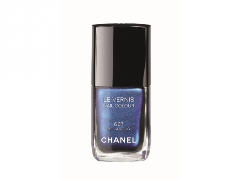 3.Лак для ногтей Le Vernis 667 Bel-Argus, Chanel, коллекция L'?t? Papillon De Chanel, лимитированная версия