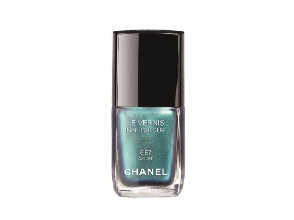 6.Лак для ногтей Le Vernis 657 Azur?, Chanel, коллекция L'?t? Papillon De Chanel, лимитированная версия