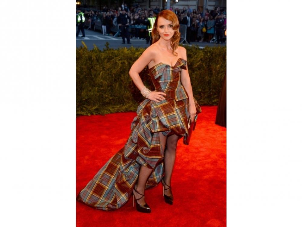 Кристина Риччи в Vivienne Westwood Couture