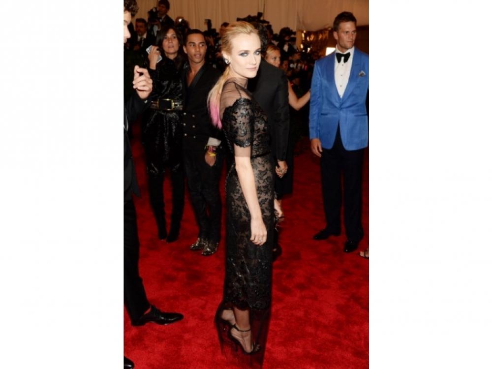 Диана Крюгер в Chanel Couture