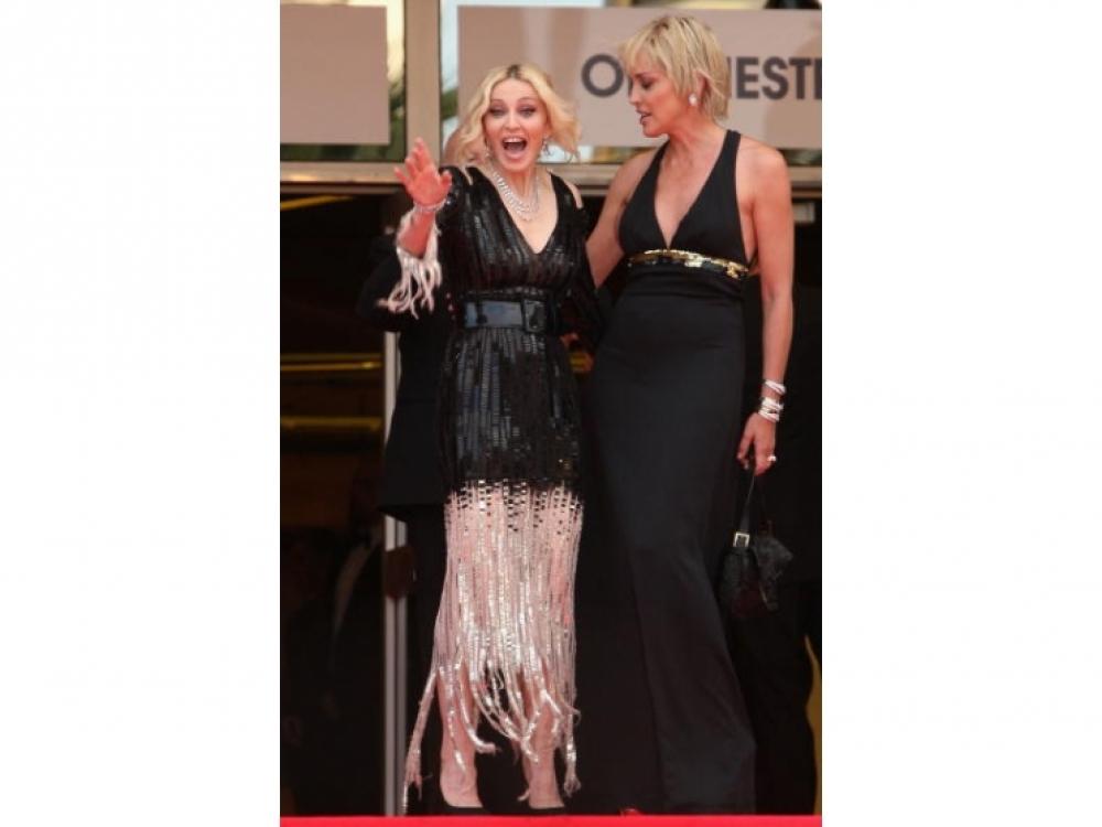 Мадонна и Шарон Стоун 2008