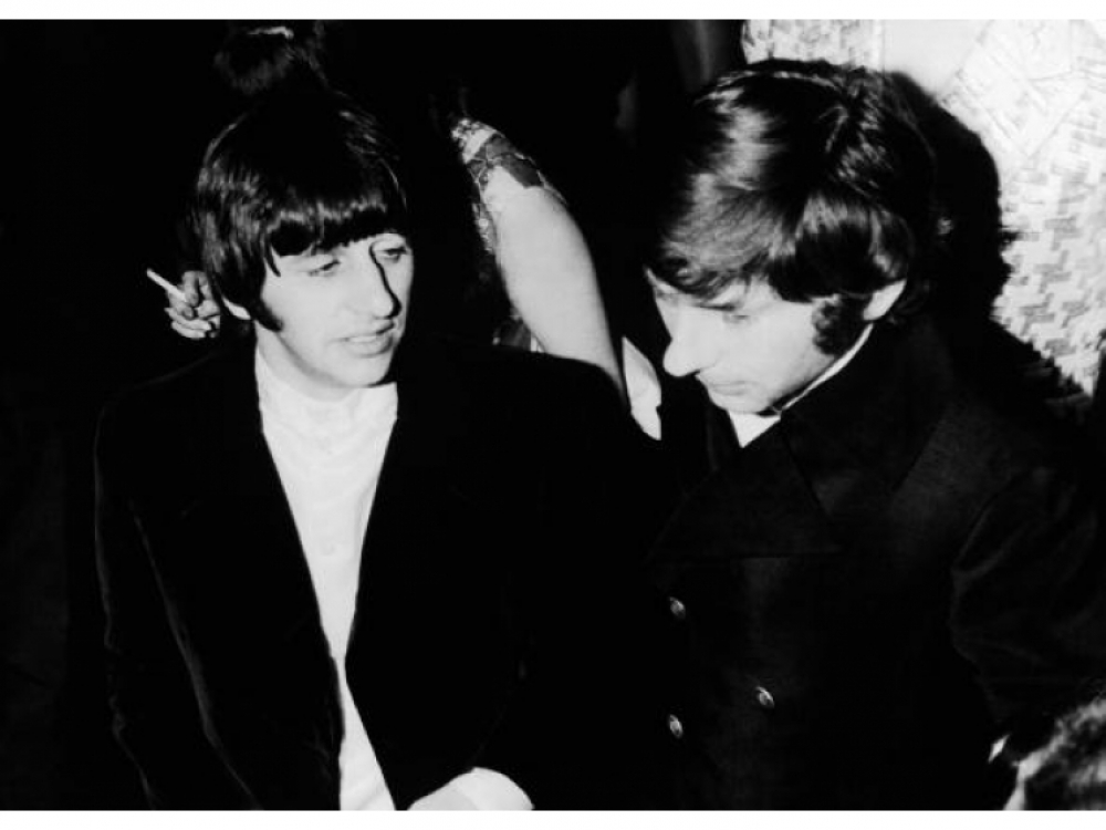 Ринго Старр и Роман Полански 1968