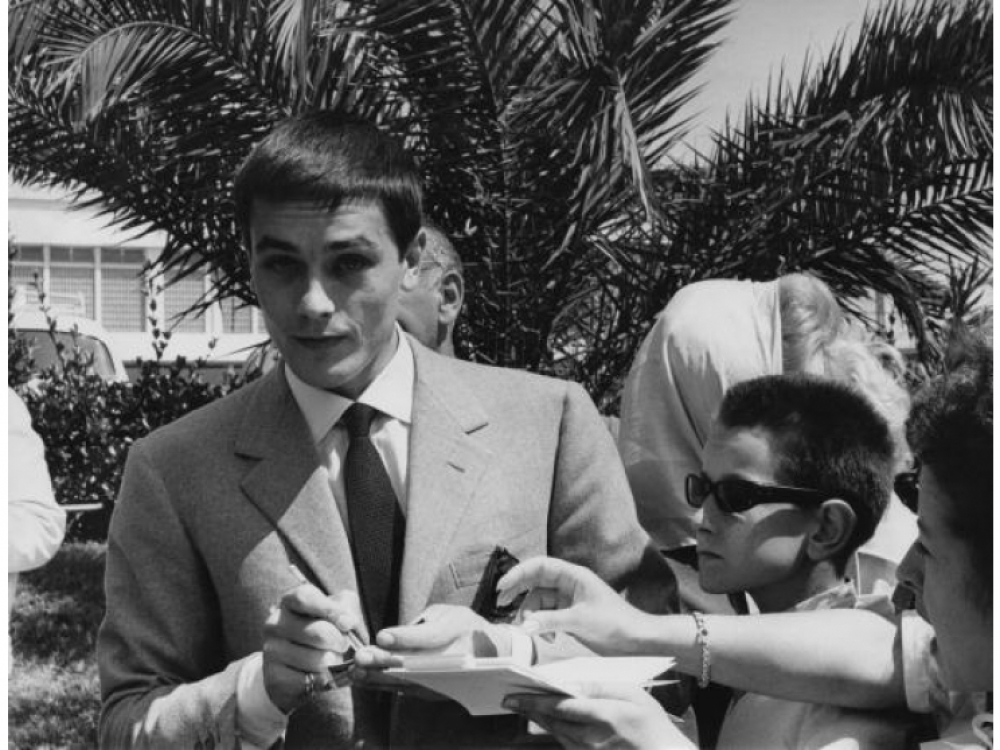 Ален Делон 1961