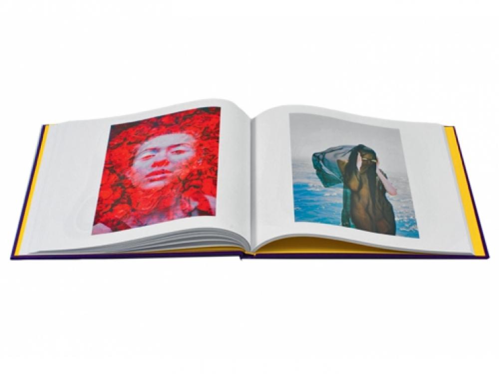 3. Разворот из дебютной книги Byzantine, 2013