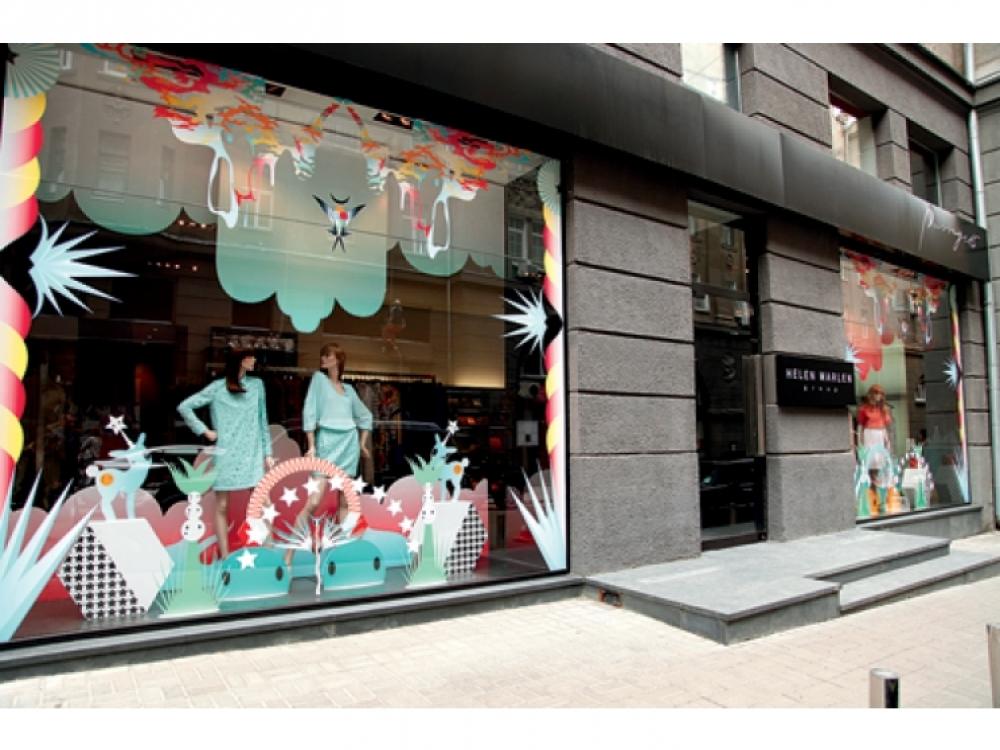 2. Витрины магазина Passage 15, весна-лето 2012