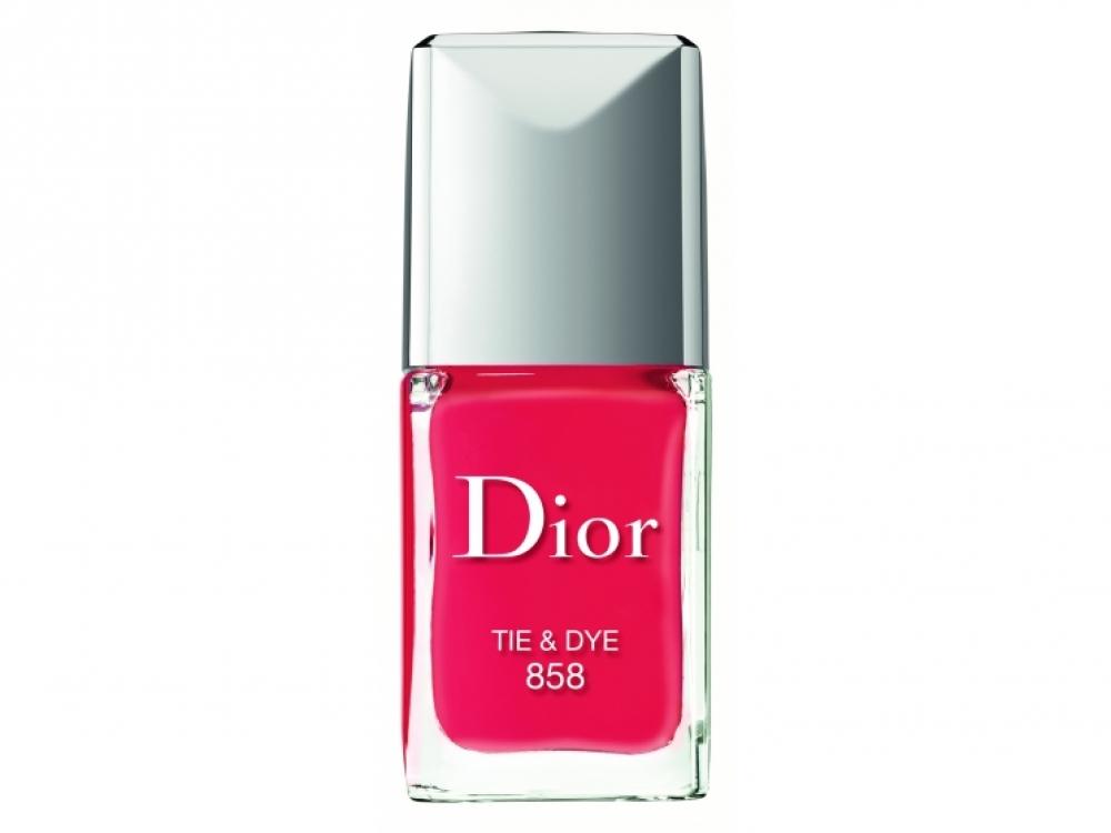 1. Лак для ногтей №858 Tie&Dye, коллекция Summer Mix, Dior