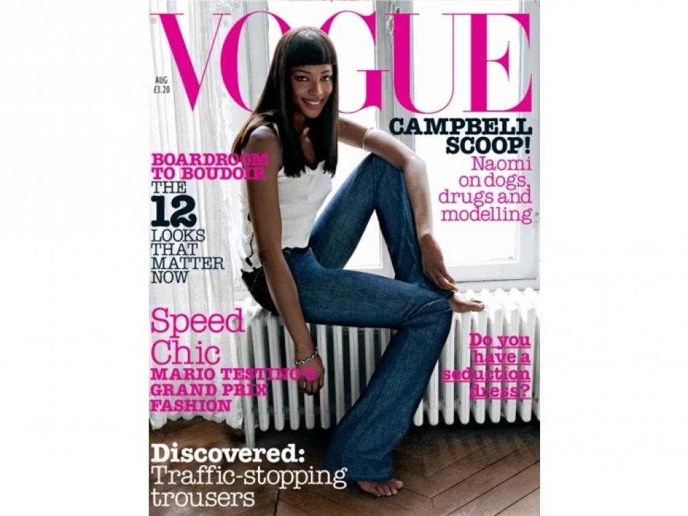 Vogue UK, август 2002