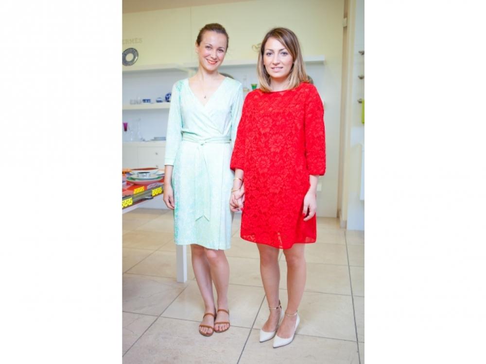 Наталья Гузенко и Ася Мхитарян