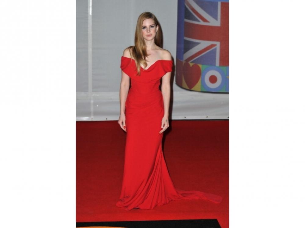В платье Vivienne Westwood