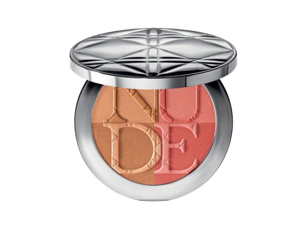 Бронзирующая пудра и румяна Dior Diorskin Nude Tan Paradise Duo
