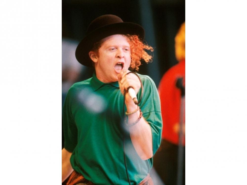 Вокалист группы Simply Red Мик Хакнелл, 1986 год