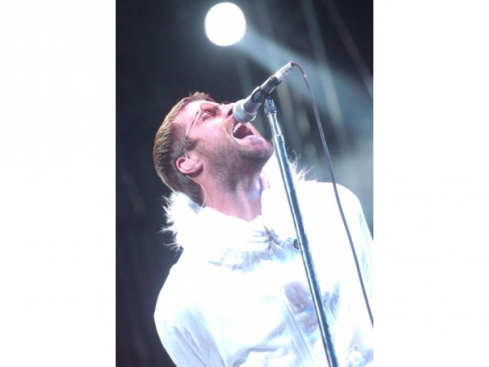 Фронтмен группы Oasis Лиам Галлахер, 2004 год