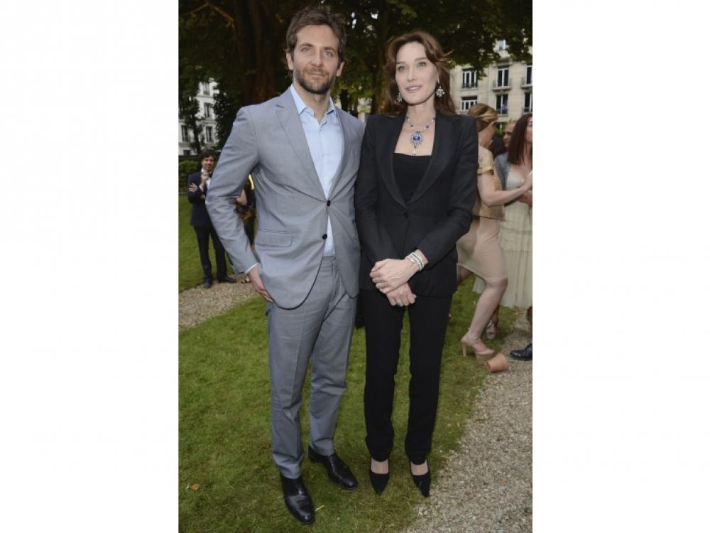 Брэдли Купер и Карла Бруни-Саркози