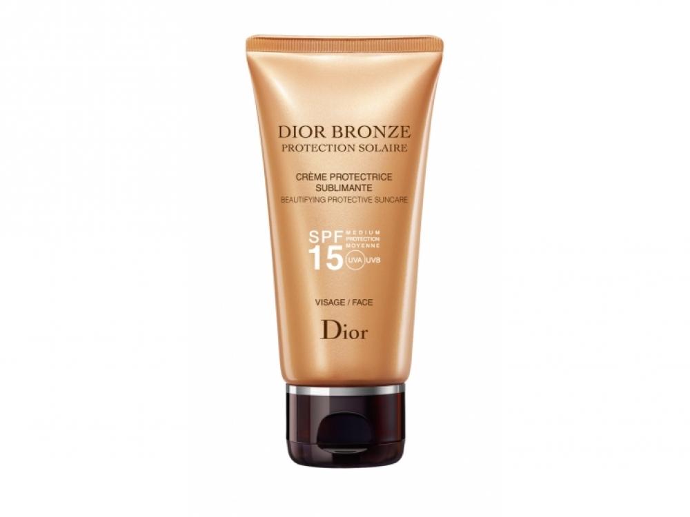 Солнцезащитный крем для лица Dior Bronze, SPF 15, Dior