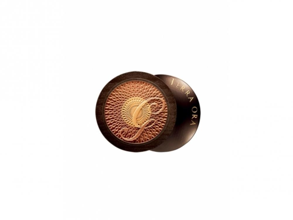 Cкульптурирующая пудра-хайлайтер для лица и декольте Terra Ora, Guerlain