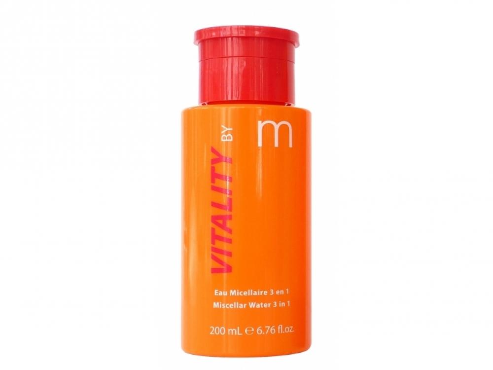 Vitality by M Miscellar Water 3 in 1, Matis. В составе: витамин С и экстракт ягод годжи. Нейтрализует свободные радикалы