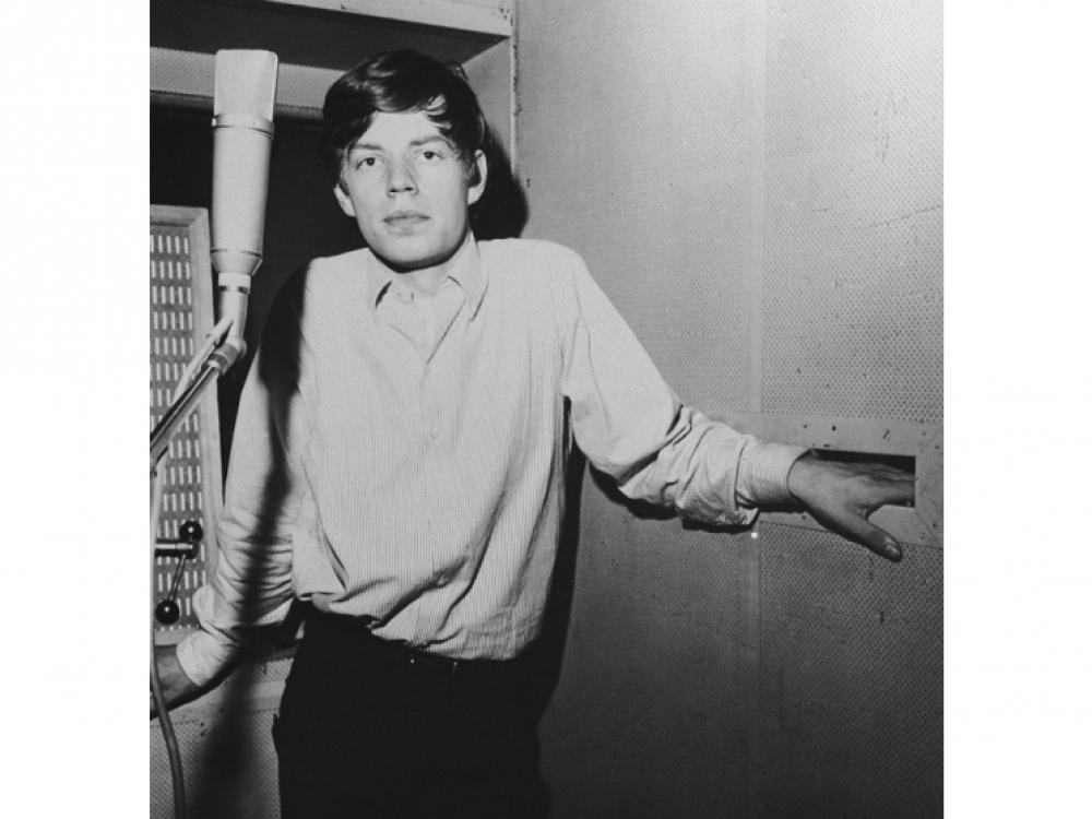 Ранний портрет героя рок-н-ролла Мика Джаггера, примерно 1963 год