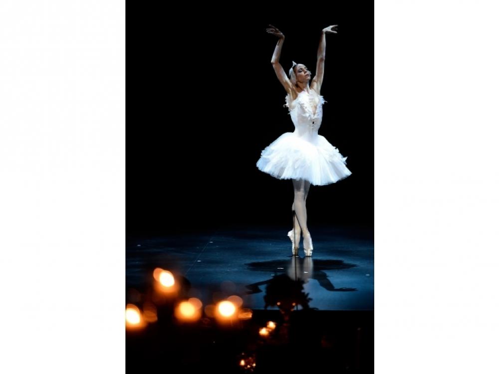 Прима-балерина Большого театра Диана Вишнева