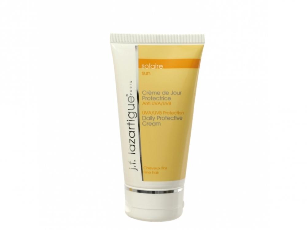 1.2. Защитный крем для тонких волос с маслами макадамии и малины. Можно наносить на сухие или влажные волосы, перед укладкой и во время пребывания на солнце