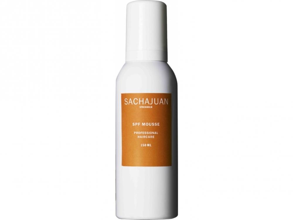 2.3. Солнцезащитный мусс для укладки. Обволакивает волосы защитной пленкой и делает их гладкими и послушными