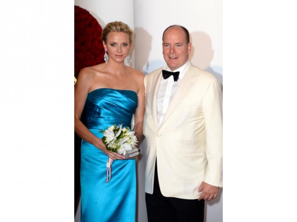 Княгиня Шарлен и князь Албер
