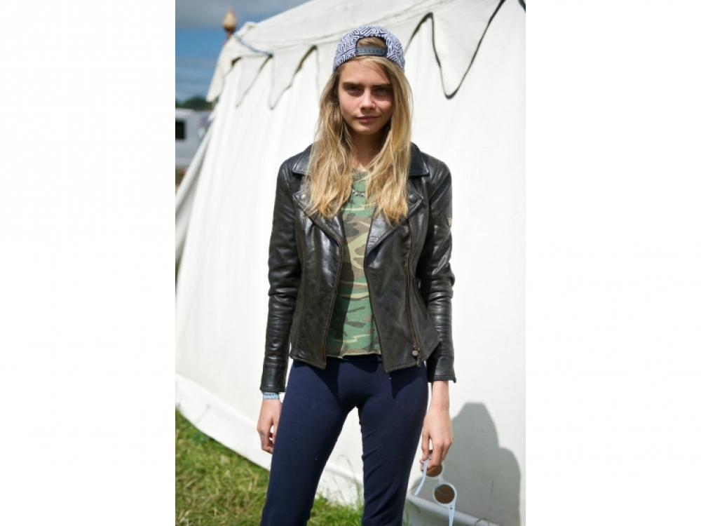 На музыкальном фестивале Glastonbury 2013