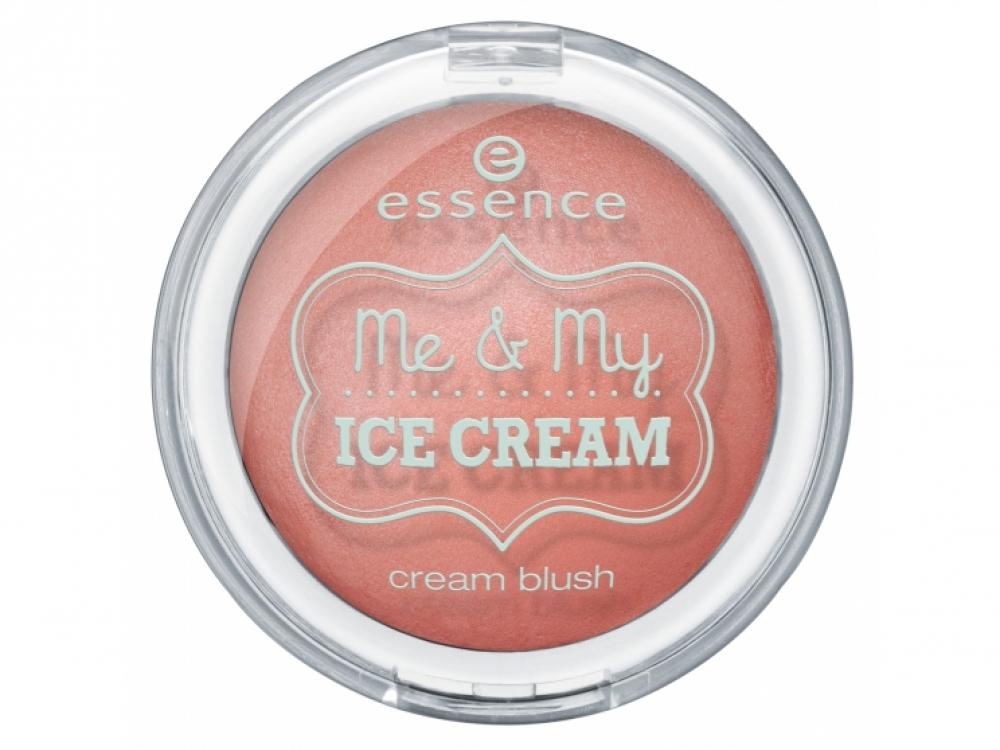 Кремовые румяна Me & My Ice Cream, essence