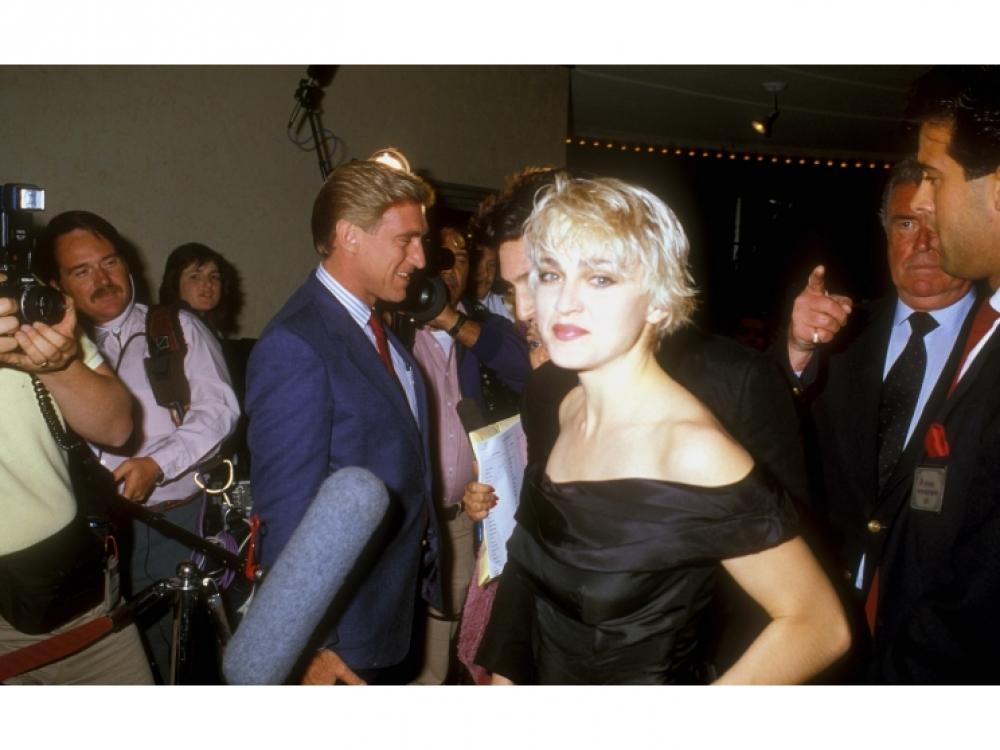 """1986, на премьере фильма """"В упор"""""""
