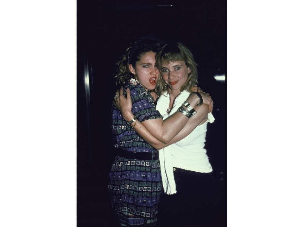 1985, Мадонна и актриса Розанна Аркетт