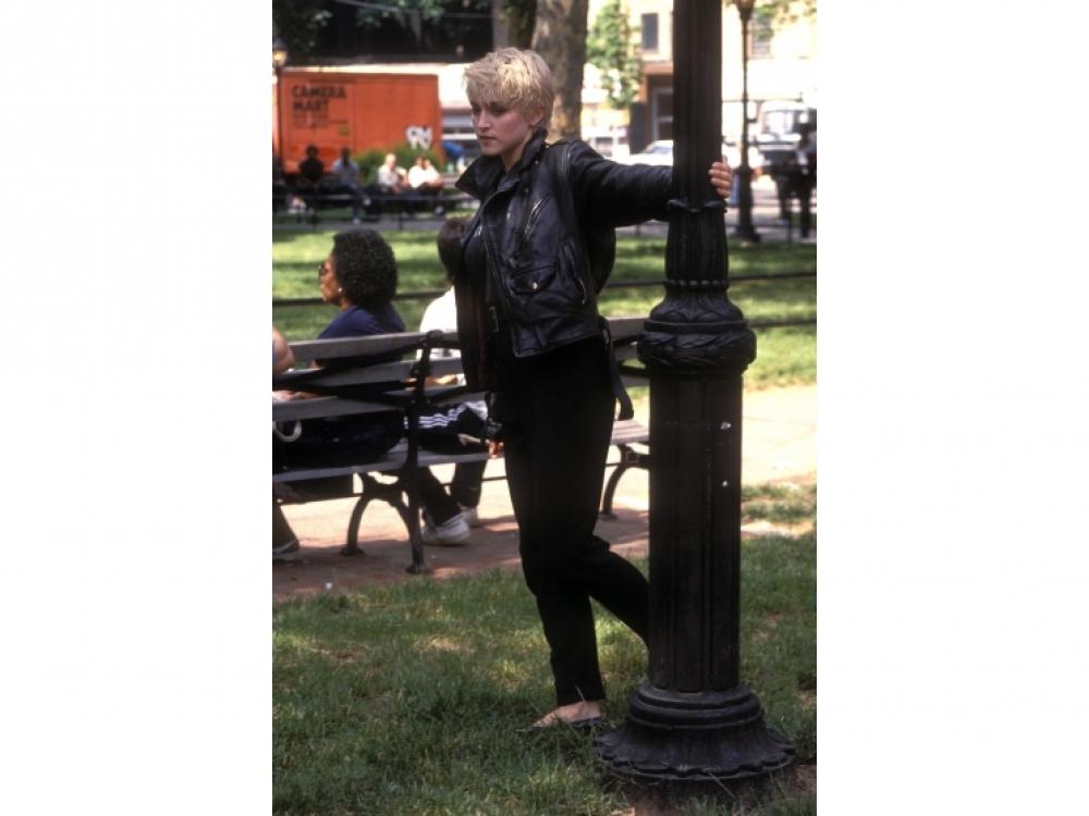 Весна 1986, Мадонна во время съемок клипа на песню Papa don't preach