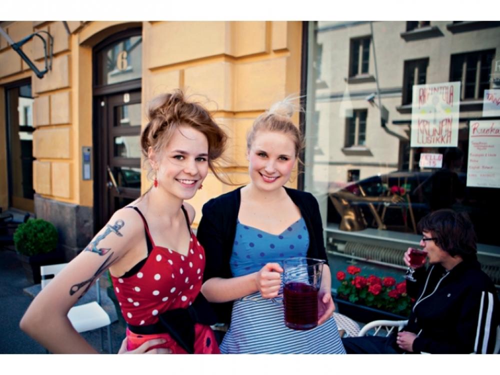 Ресторанный день в Финляндии, май 2011