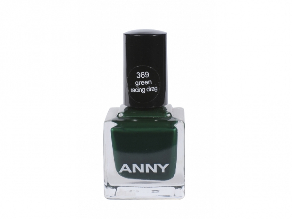 Лак для ногтей Nail Polish Green Racing Drag No. 369, Anny