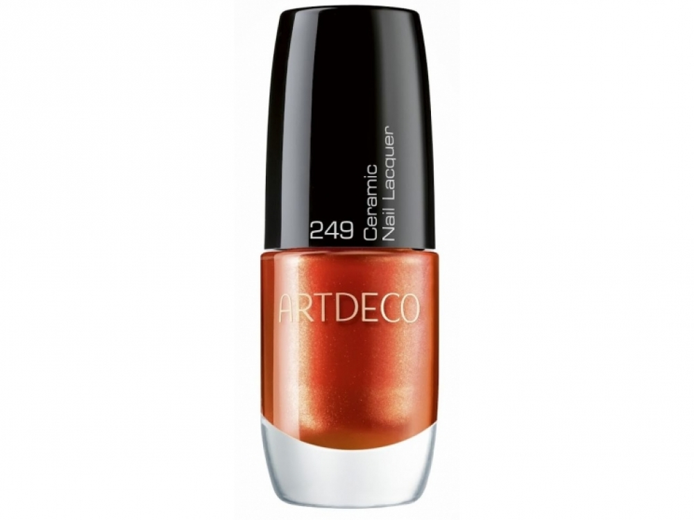 Лак для ногтей Tribal Sunset Ceramic Nail Lacquer, 249 Solar Ray, Artdeco